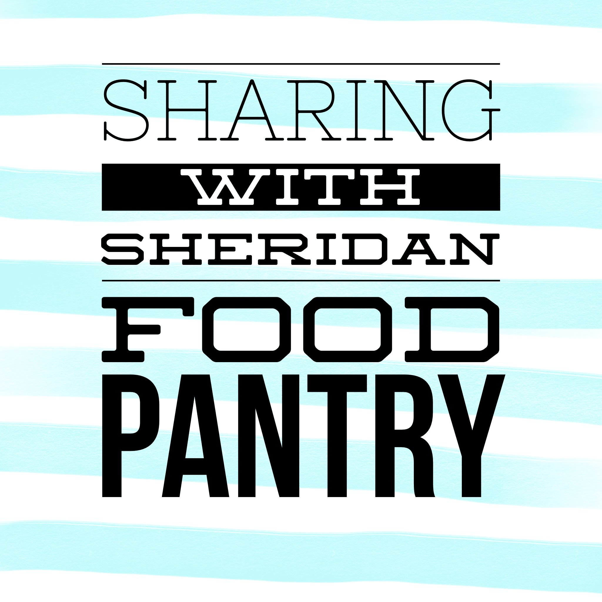 Sharing with Sheridan Food Pantry