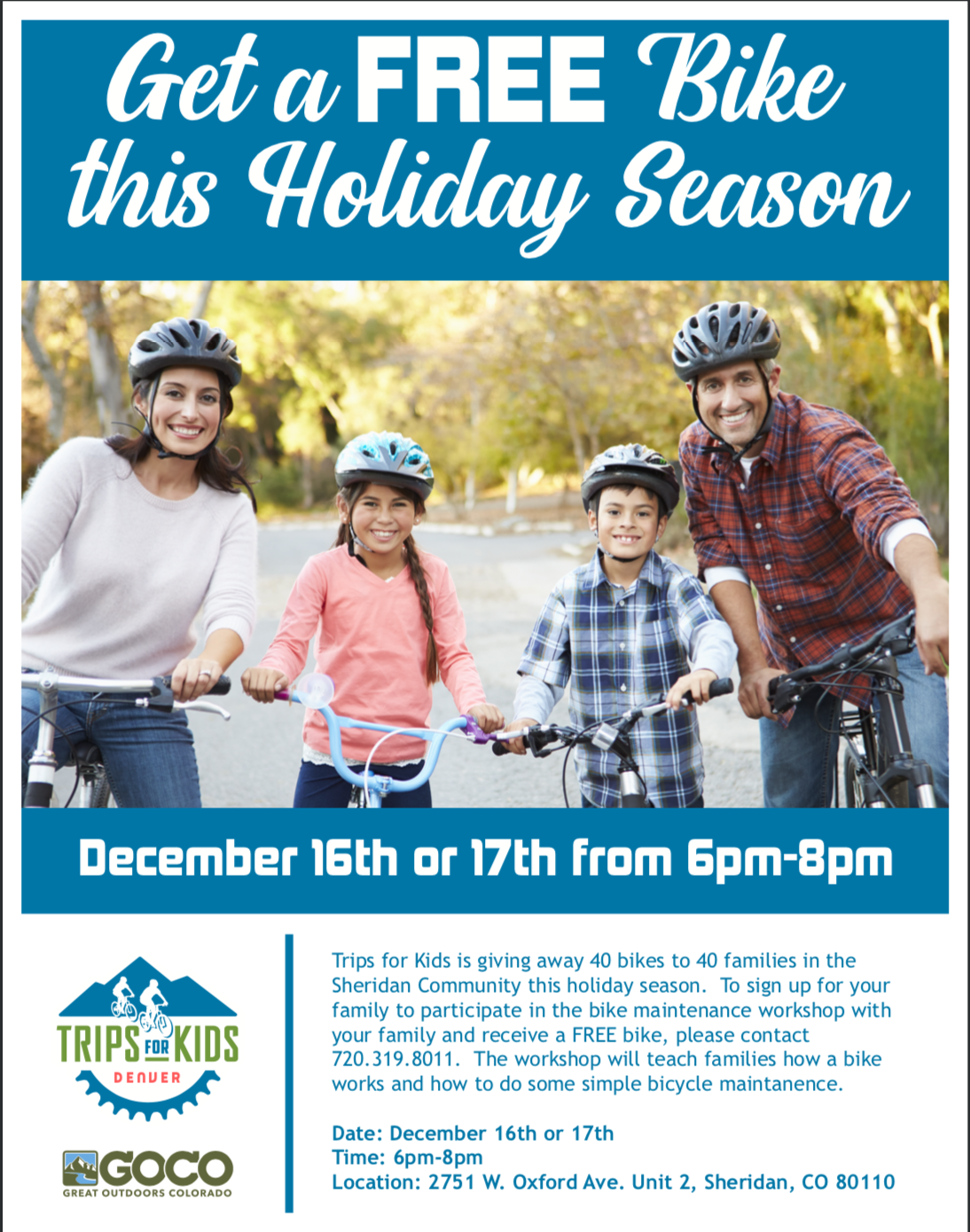 Trips For Kids Bike giveaway-ENG
