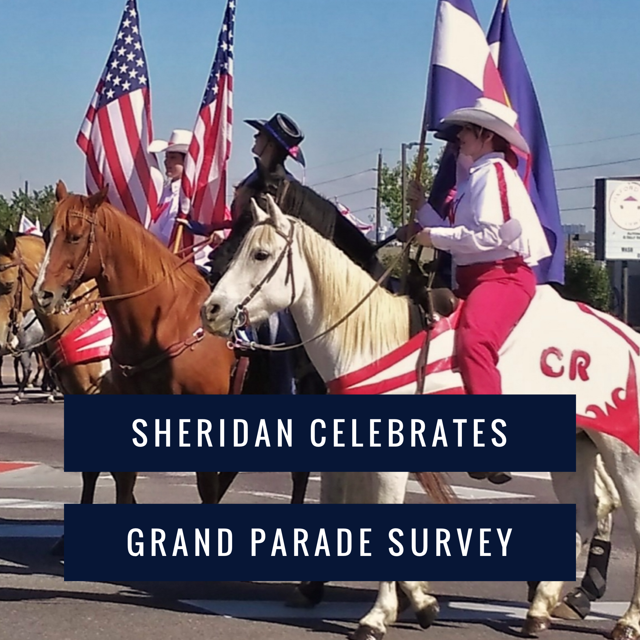 Westernaires at the Sheridan Celebrates Parade 2019.